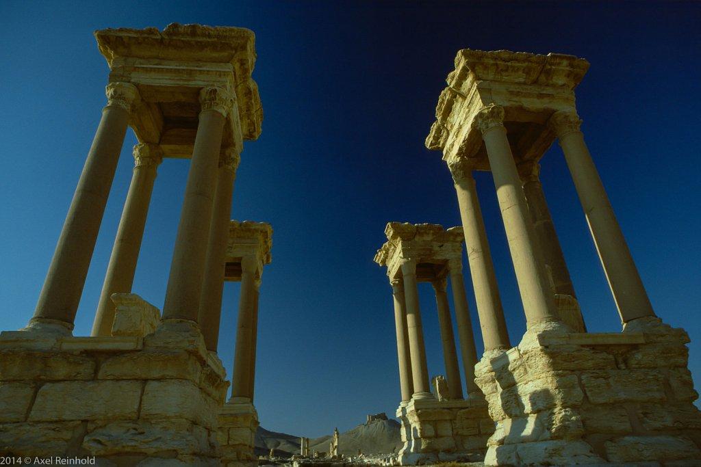 Palmyra Tetrapylon